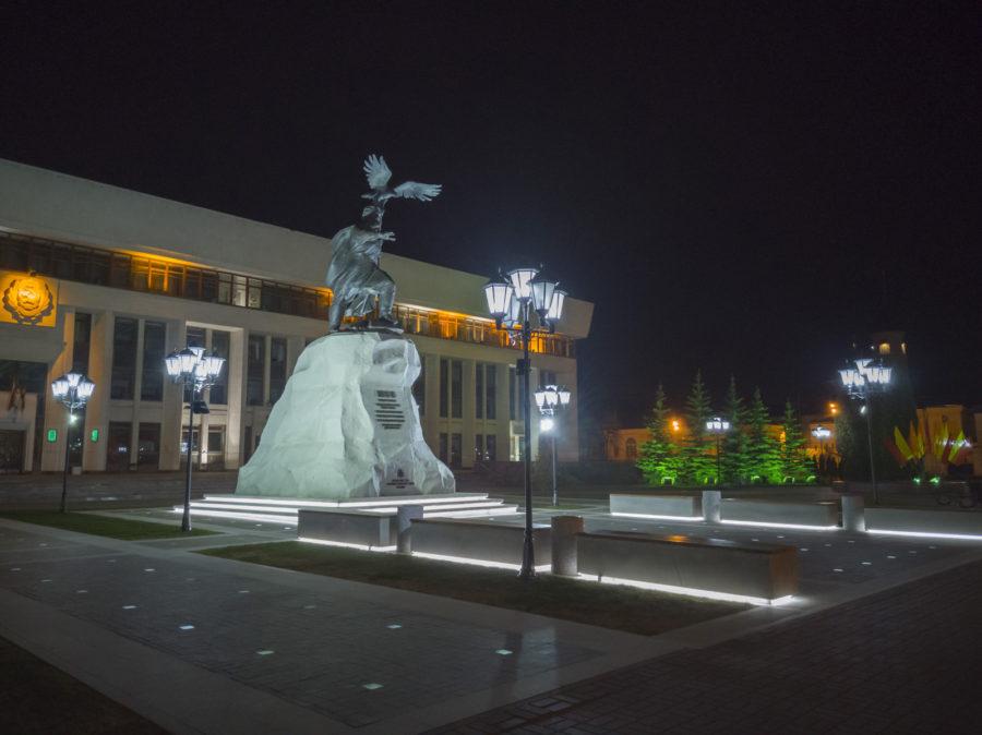 Отредактированное и переведённое из RAW фото - снято на Huawei P20