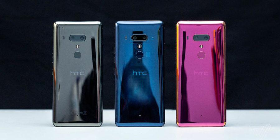 HTC U12+ цвета корпуса
