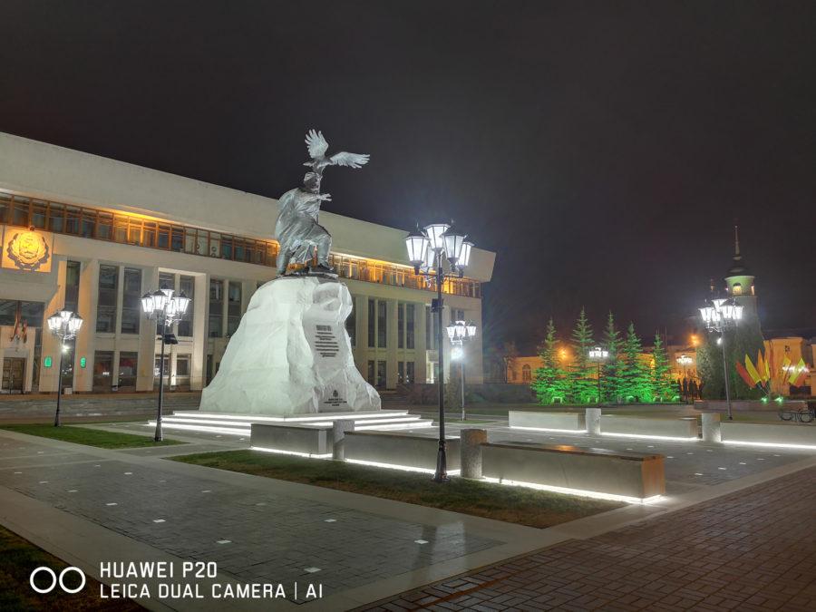 Режим Ночь - снято на камеру Huawei P20
