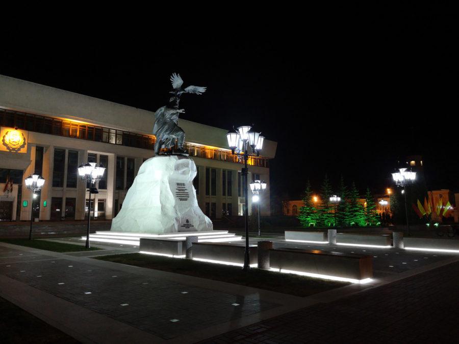Ночная съёмка на Huawei P20 - пример