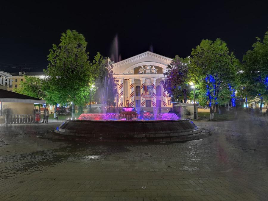 Пример фото, снятого на Huawei P20 Pro в режиме Ночь