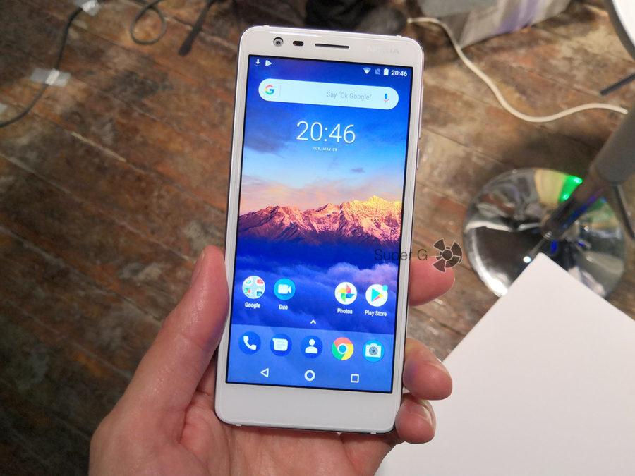 Характеристики Nokia 3.1