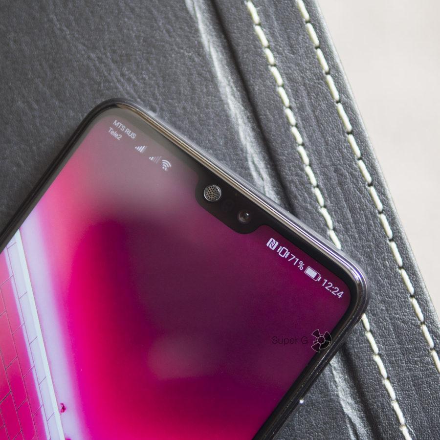 Дисплей Huawei P20 с вырезом под фронтальную камеру и динамик