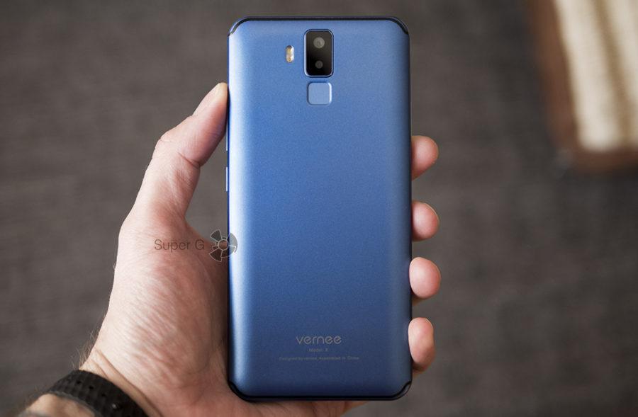 Vernee X - смартфон плохенький, но уведомления работают, как часы