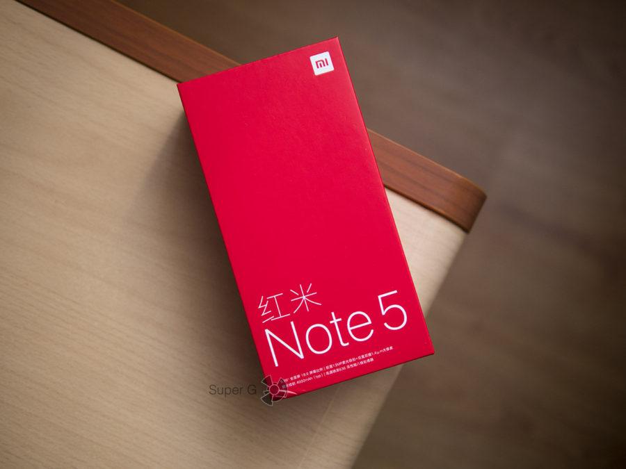 Распаковка Xiaomi Redmi Note 5 Pro