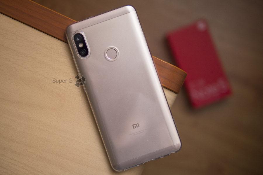 Xiaomi Redmi Note 5 Pro в чехле из комплекта