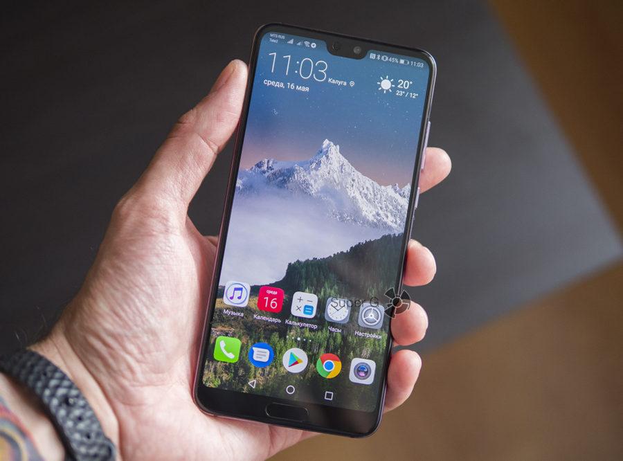 Huawei P20 Pro удобство использования и отзыв реального пользователя