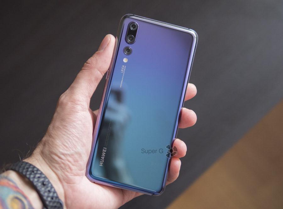 Huawei P20 Pro сумеречный цвет