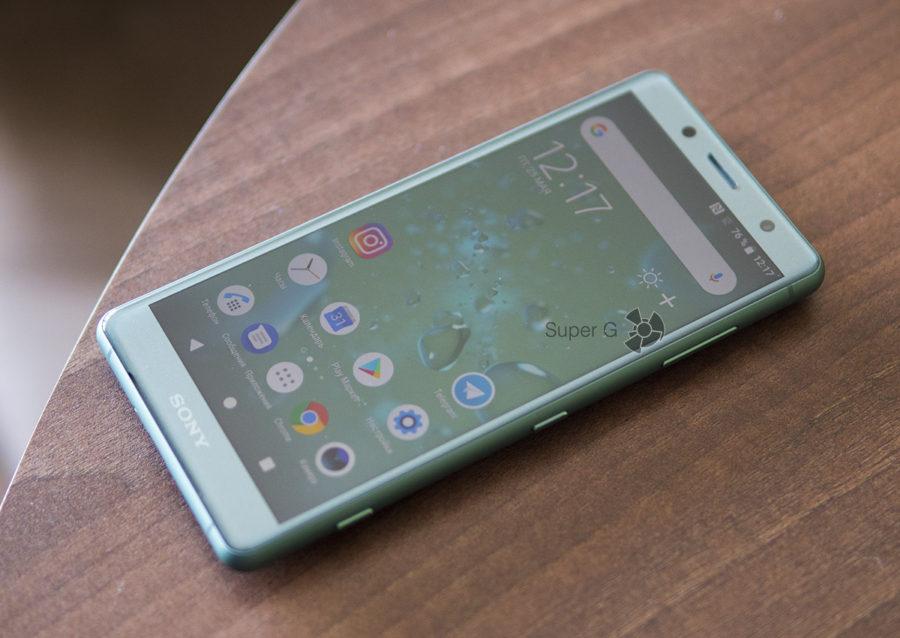 Стекло Gorilla Glass 5 Sony Xperia XZ2 Compact