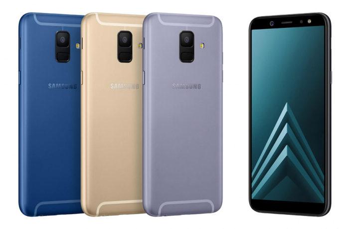 Samsung Galaxy A6 (2018) Colors