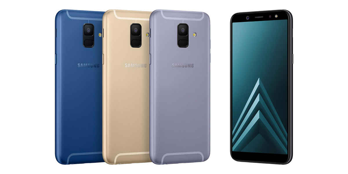 Samsung Galaxy A6 (2018) Colors