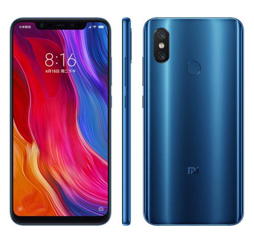 Xiaomi Mi8 Синий