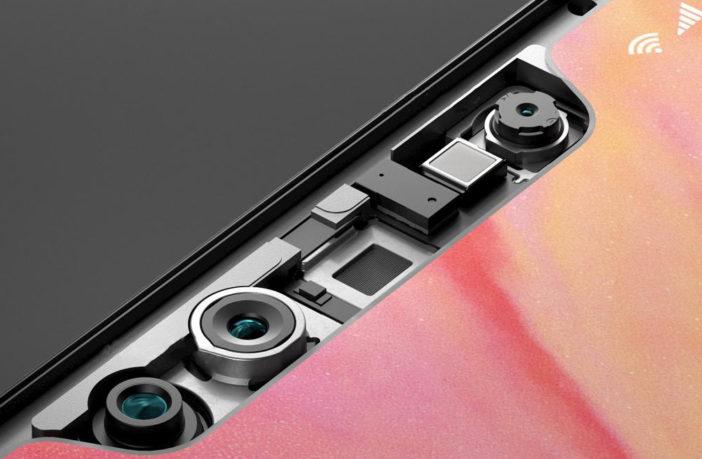 Xiaomi Mi8 фронтальная камера и датчики