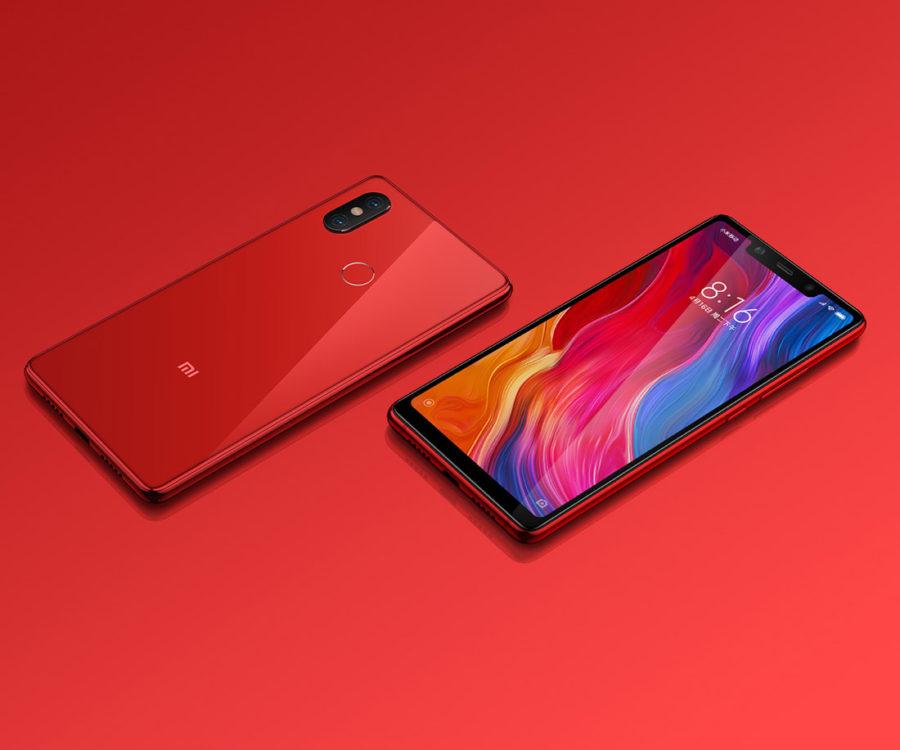 Xiaomi Mi8 SE красный