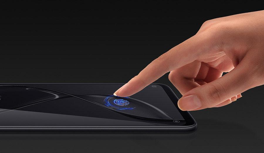 Сканер отпечатков пальцев прямо в дисплее xiaomi mi8