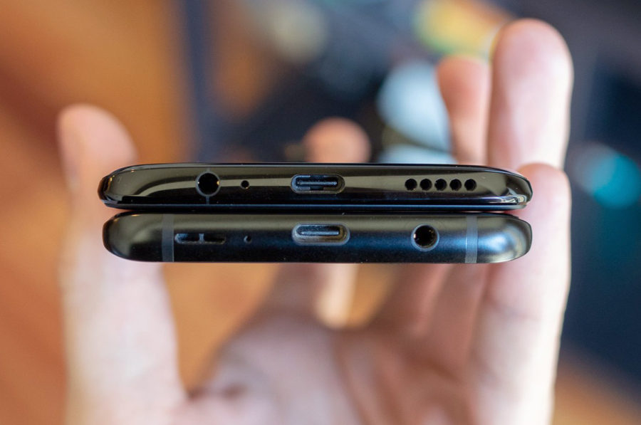 И Samsung S9+, и OnePlus 6 имеют разъём 3,5 мм