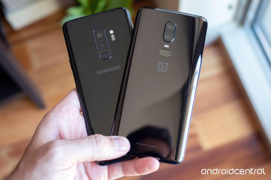 Сравнение Samsung S9+ и OnePlus 6