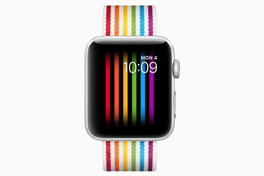 Тканевый ремешок Apple Watch
