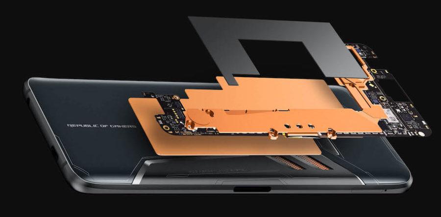 Asus ROG Phone ZS600KL система охлаждения