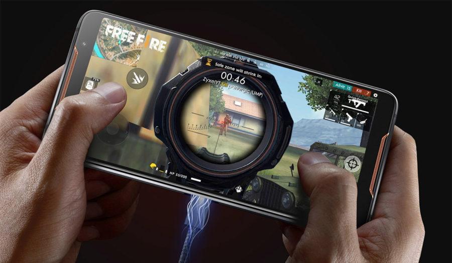 Asus ROG Phone ZS600KL USB Type-C вынесег на бок