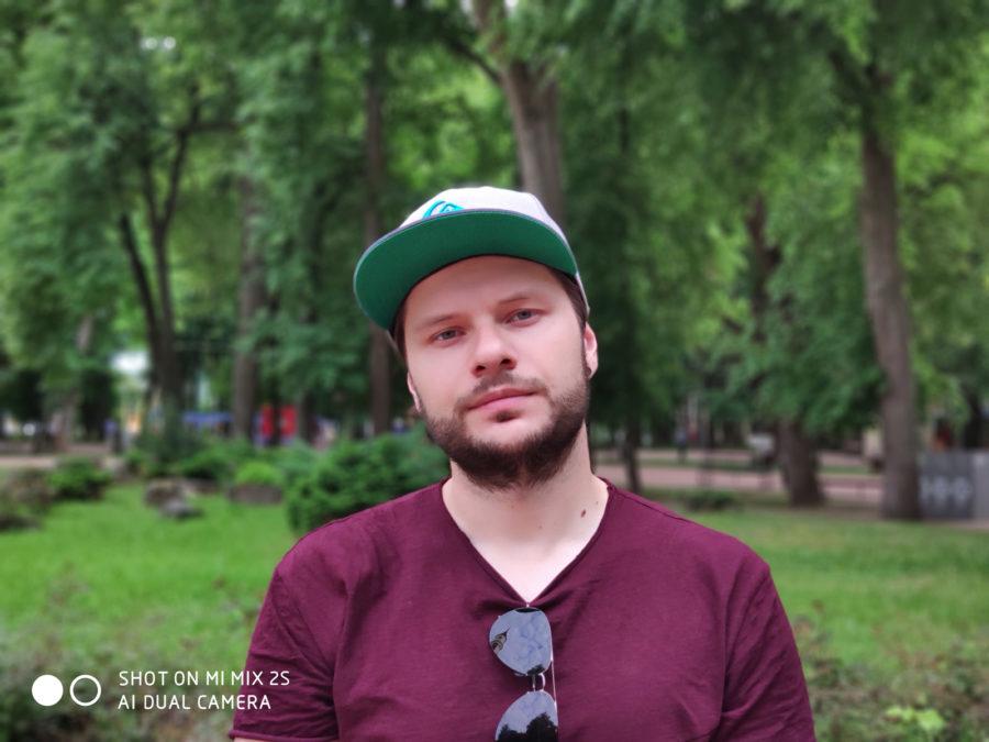 Портретный режим Xiaomi Mi MIX 2S