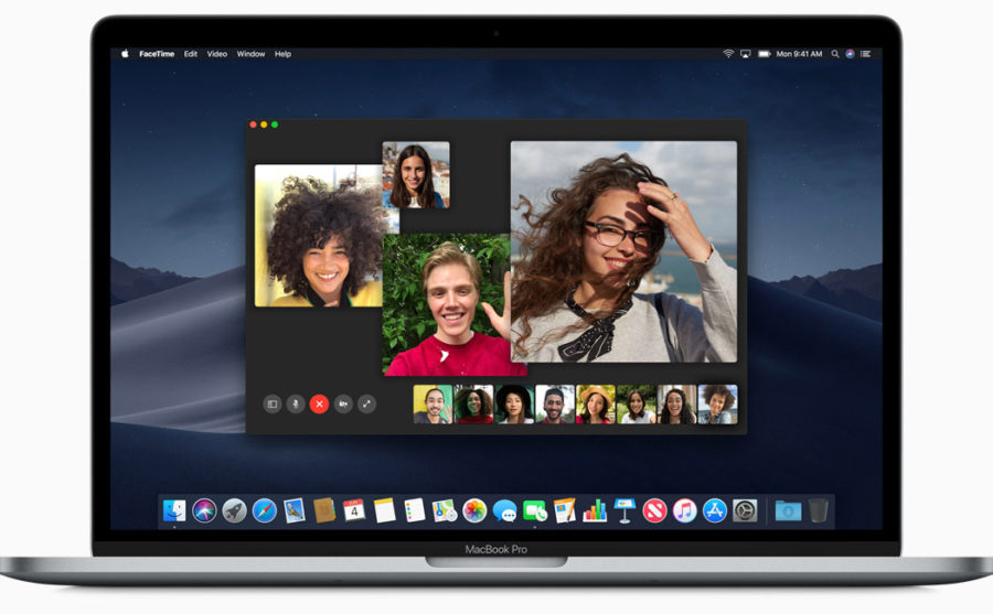 Групповой FaceTime для Mac
