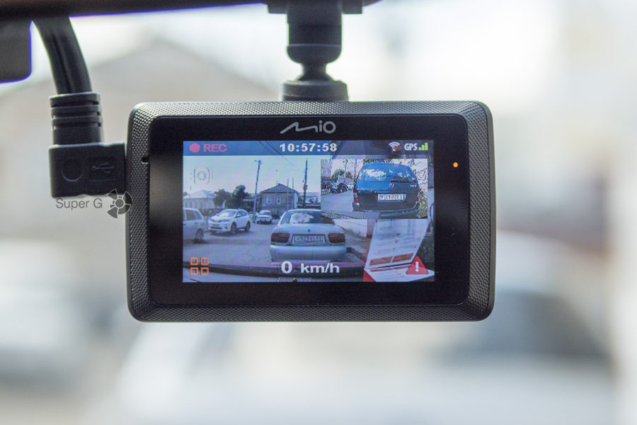 Камера заднего вида Mio MiVue A30 к видеорегистратору Mio MiVue 786
