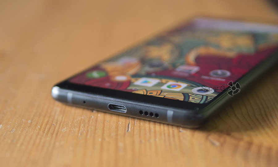 USB Type-C порт в Xiaomi Mi MIX 2S - аудиовыхода нет