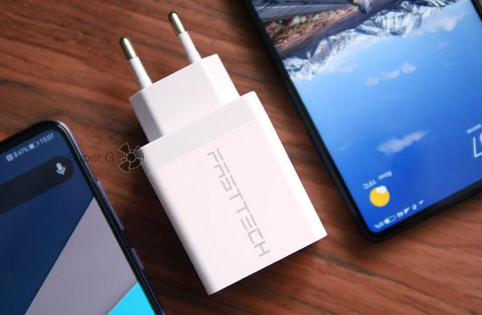 Обзор быстрой зарядки Fasttech с поддержкой Quick Charge 3.0