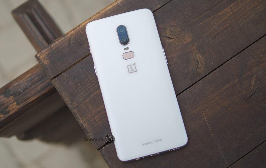 Silk White OnePlus 6 8 128 ГБ