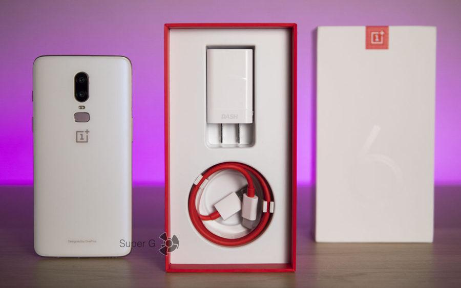 Комплектация OnePlus 6