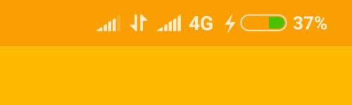 Xiaomi Mi MIX 2S пишет, что в данный момент заряжается от обычной зарядки