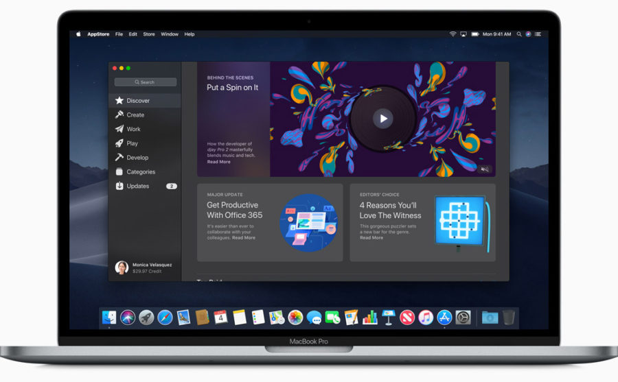Редизайн Mac App Store - новый вид магазина приложений