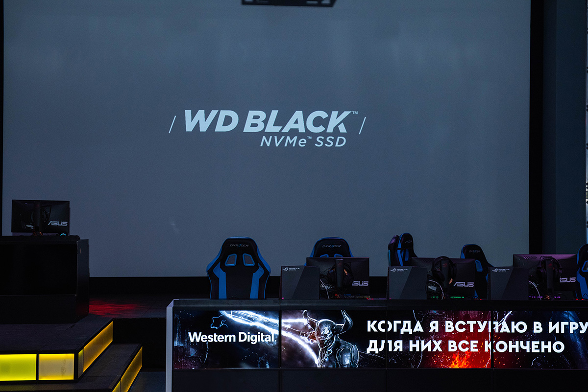 Фото с презентации WD Black NVMe