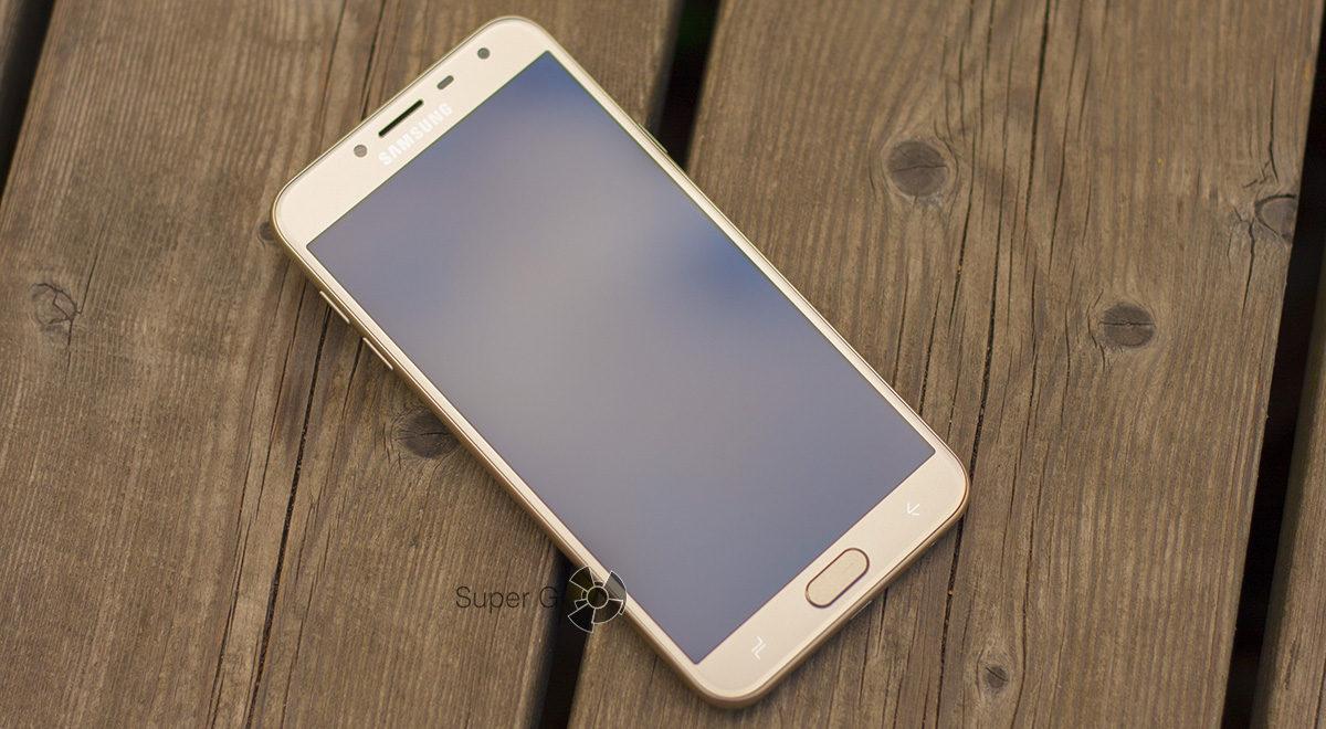 Samsung Galaxy j4 (2018) экран