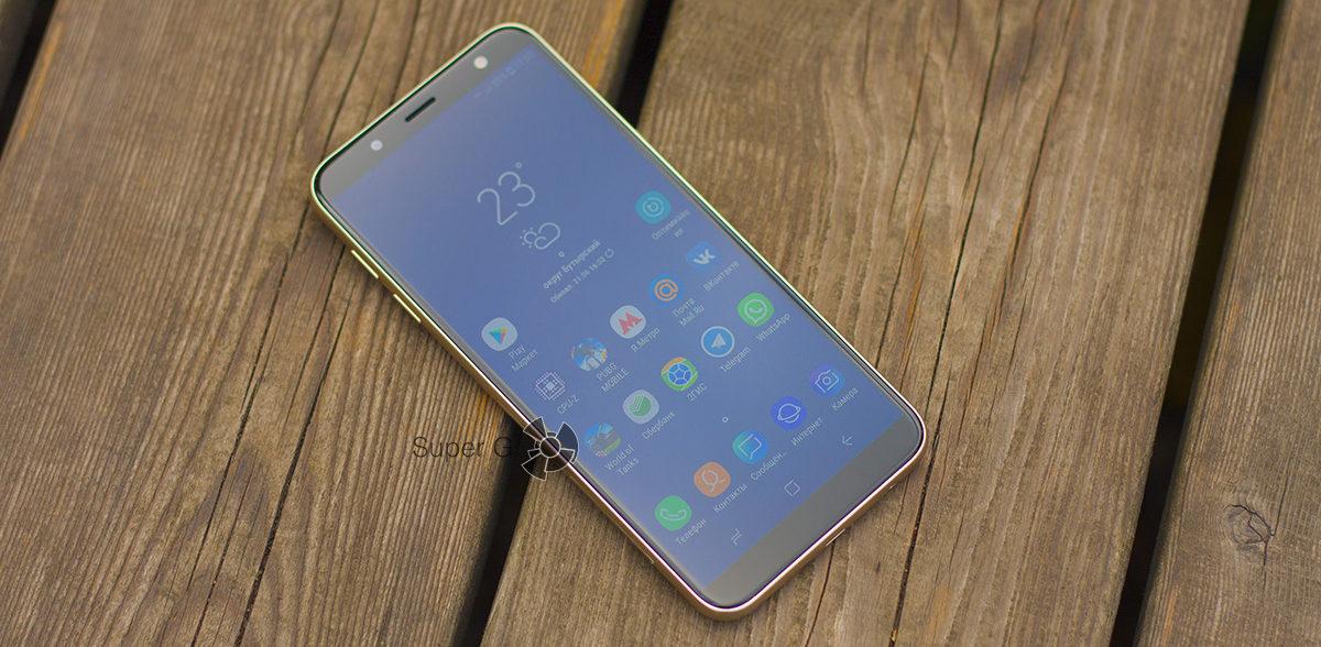 Дисплей Samsung Galaxy j6 (2018)