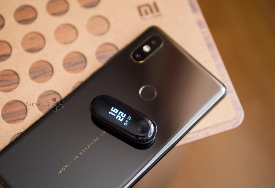 Подключение Xiaomi Mi Band 3 к смартфону Xiaomi Mi MIX 2S