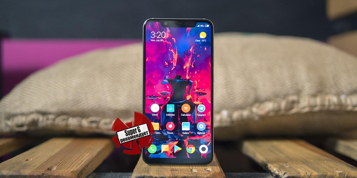 Обзор смартфона Xiaomi Mi8