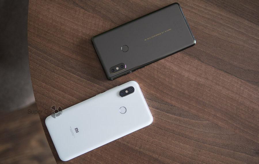 Сравнение Xiaomi Mi MIX 2S и Xiaomi Mi8 - какой флагман купить