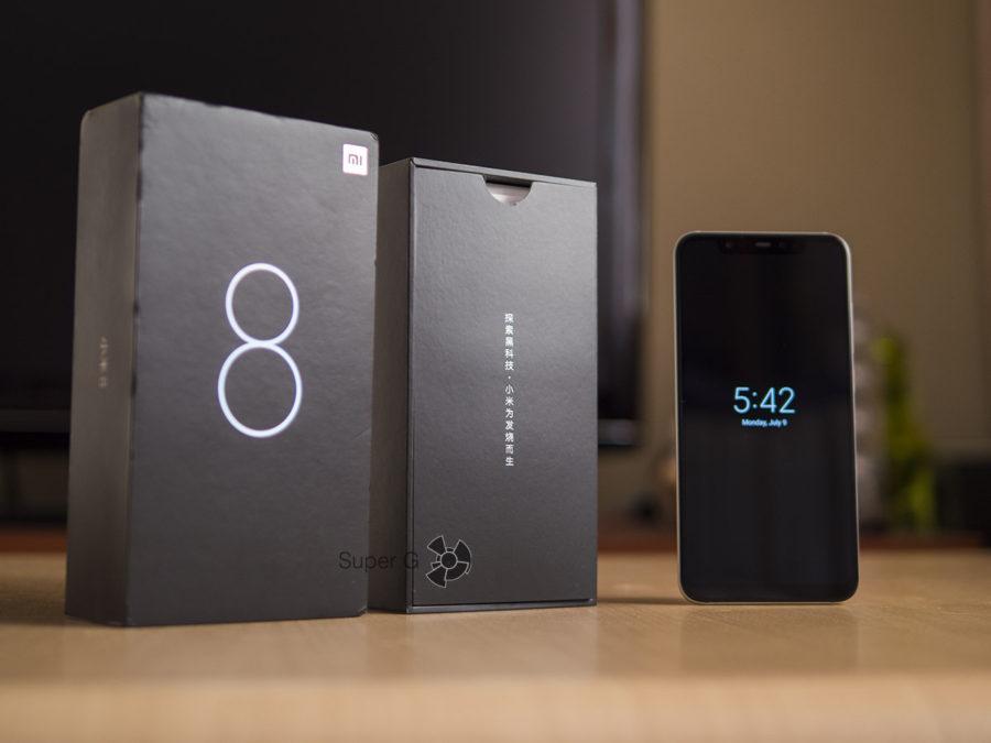 Распаковка Xiaomi Mi8