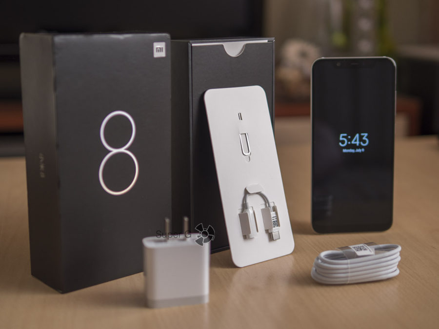 Комплектация Xiaomi Mi8