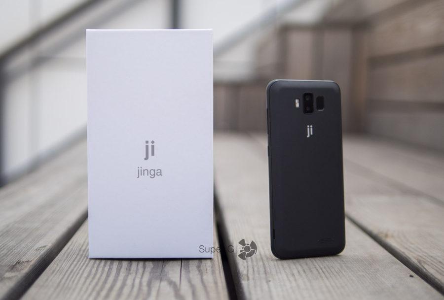 Распаковка Jinga Joy PRO - коробка