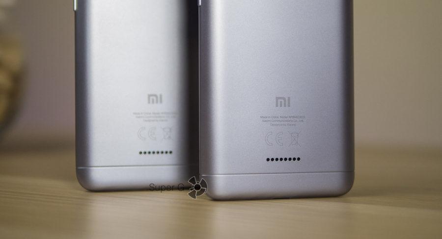Динамик и у Xiaomi Redmi 6A, и у Xiaomi Redmi 6 расположен на задней стороне