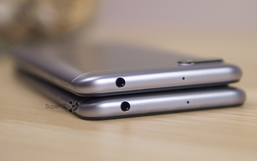 Разъёмы Xiaomi Redmi 6A и 6