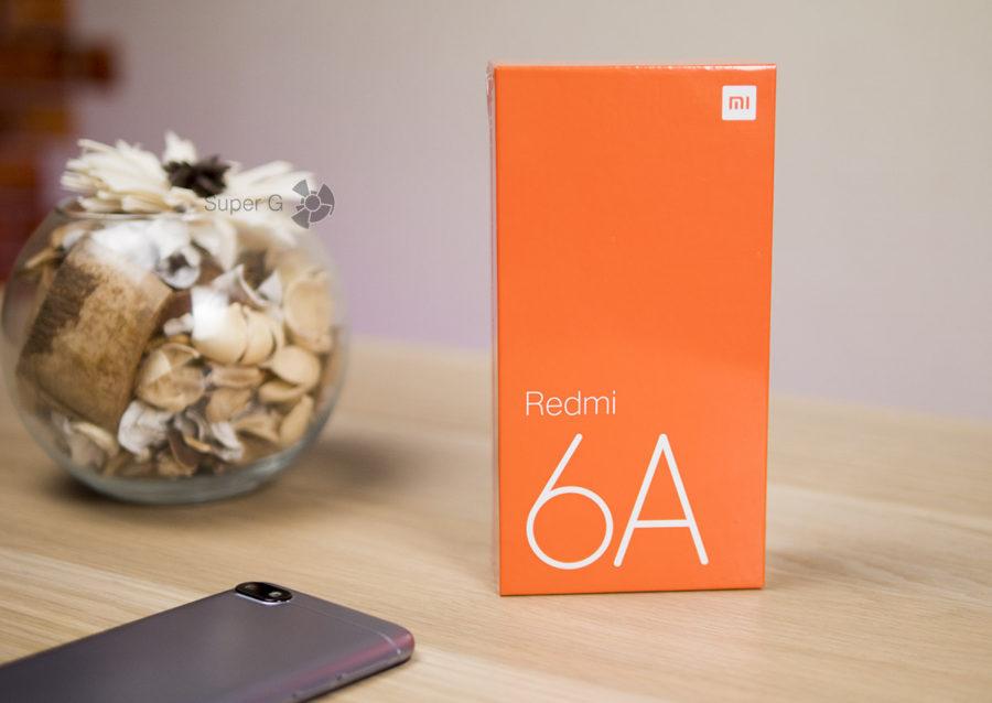 Распаковка Xiaomi Redmi 6A