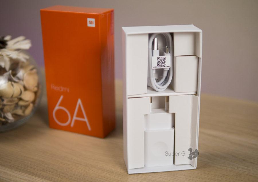 Комплектация Xiaomi Redmi 6A