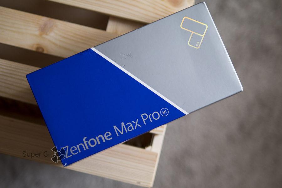 Распаковка Asus Zenfone Max Pro (M1) (коробка из-под смартфона)