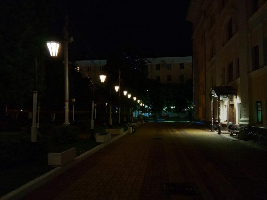 Xiaomi Redmi 6A - ночное фото