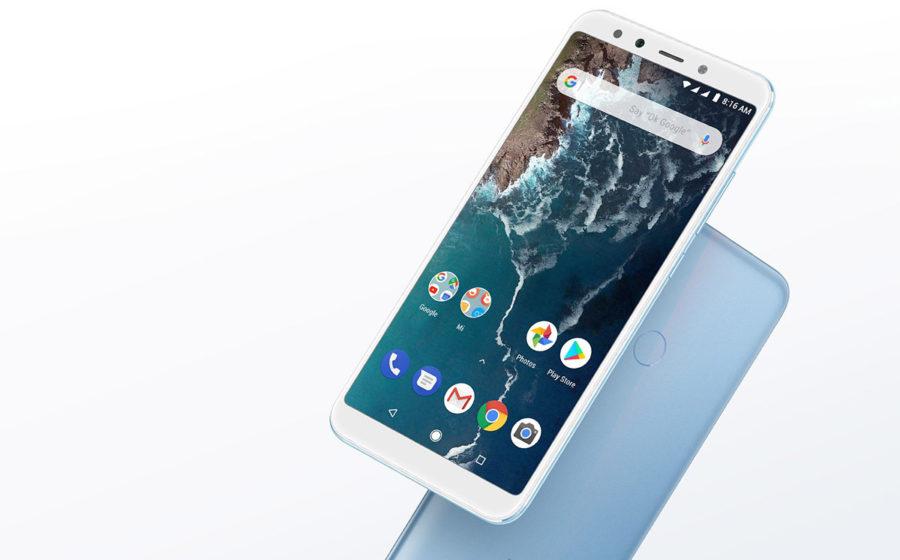 Xiaomi Mi A2 Blue color