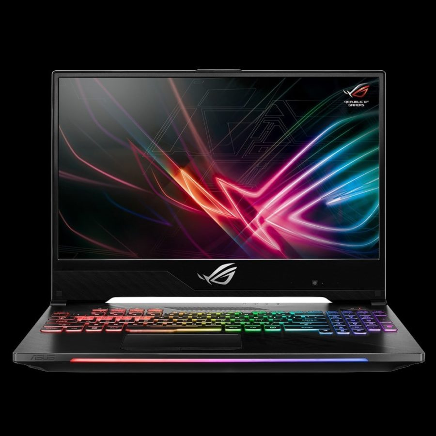 Asus ROG Strix HERO II дисплей
